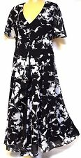 plus sz S -M / 18 TS TAKING SHAPE EVENT-WEAR Painterly Petals Dress NWT! rrp$250