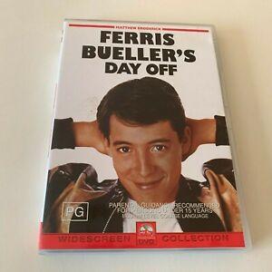Ferris Bueller's Day Off - Matthew Broderick - Widescreen - VGC - DVD - R4