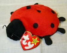 Ty Retired Original Beanie Baby Lucky The Lady Bug With Tag Error