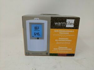Emerson Warmtiles Non-Programmable Thermostat Dual Voltage, 120/240V