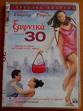 13 GOING ON 30 DVD PAL FORMAT REGION 2 Jennifer Garner, Mark Ruffalo