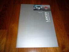 Mitsubishi Lancer Limousine Prospekt 05/2004