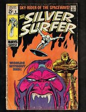 Silver Surfer #6 ~ Worlds Without End ~ 1969 (4.0) Wh