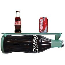 COCA COLA COKE BOTTLE WALL SHELF   NEW!!!