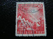 ALLEMAGNE RFA - timbre - Yvert et Tellier n° 2 obl (A1) stamp germany