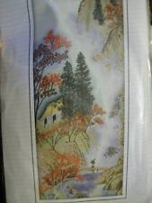 Asian Mountain River Cross Stitch Kit 10.5x26.75 inches RTO