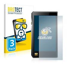 3x FiiO X5 III AirGlass Glass Screen Protector Ultra Thin Protection Film