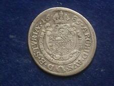 VI ( 6 ) Kreuzer 1685 Graz Leopold I RDR  W/17/574