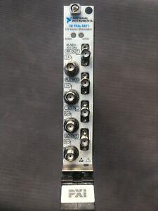 National Instruments NI PXIe-5611 I/Q Vector Modulator