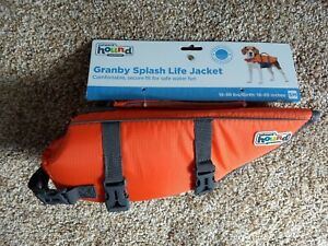 New Outward Hound Granby Splash Life Jacket Float Small Dogs 15-30 lbs