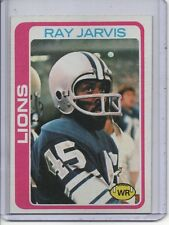 1978 TOPPS #467 RAY JARVIS, DETROIT LIONS... FREE SHIPPING