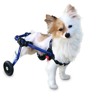 Dog Wheelchair Extra Small For Mini/Toy Breeds Up to 10 lbs - By Walkin' Wheels