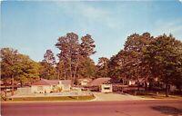 Tifton Georgia 1960s Postcard Titus Motor Court Motel