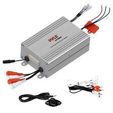New Pyle PLMRMP4A 4-Channel Marine Waterproof MP3/iPod Power Audio Amplifier Amp