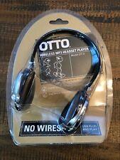 Otto Wireless MP3 Headset Headphones Bundle 512 MB Usb Plug And Play Model OT-3