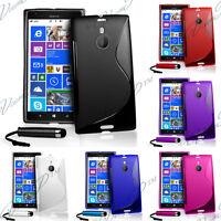 Accessoires Etui Housse Coque Silicone Simili Cuir Vrai Seri Nokia Lumia