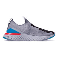 Nike Epic Phantom React Flyknit (GS) Shoes Indigo Fog Black CJ7202-400 Youth NEW