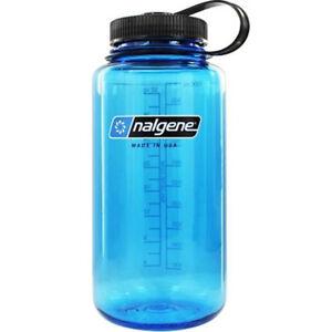 Nalgene Tritan Wide Mouth Water Bottle - 32 oz. - Blue/Black