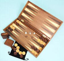 Walnut Backgammon Set - Ref: 455