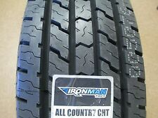 6 New LT 225/75R16 Ironman All Country CHT Tires 225 75 16 2257516 75R 10 Ply
