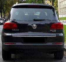 VW TIGUAN 5N 2007-2015 CHROMLEISTE ZIERLEISTE HECKKLAPPE KOFFERRAUMKLAPPE