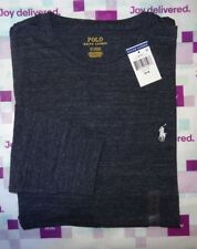 Polo Ralph Lauren Mens LONG SLEEVE CREWNECK TEE T Shirt  Brand New With Tag NWT