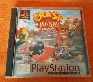SONY PS1 Playstation 1 Platinum Crash Bash PAL 2000