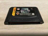 NFL Quarterback Club (Sega Genesis 32X, 1995) Authentic Game Cartridge / VG Cond