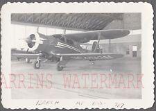Vintage Photo Beech Staggerwing Airplane Laredo Texas 755969