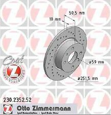 FIAT STILO 1.9 JTD 02-05 disques de frein avant pads