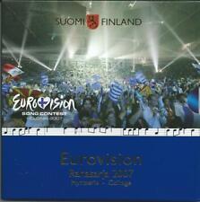 Finnland Euro KMS Eurovision Song Contest Helsinki 2007 mit 2 € röm Verträge