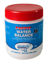 Poppit Water Balance 500g Spa Chemical. To raise the pH & Total Alkalinity