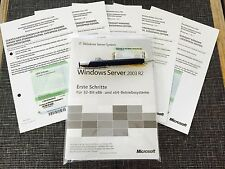 Windows Server 2003 Standard R2, 32bit incl. 30 CALs,mit MwSt-Rechnung