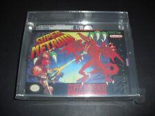 Super Metroid Complete VGA 85 Q Qualified for SNES Super Nintendo!