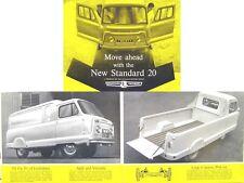 Standard 20 Atlas Van & Pick Up 1962-63 Original Sales Brochure Pub. No. 353