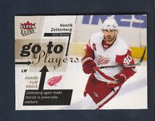 2009-10 Fleer Ultra Go to Players # GT2 Henrik Zetterberg