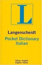 Langenscheidt's Pocket Dictionary Italian by