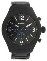 Brand New Fossil BQ2108IE Machine Chronograph Black Stainless Steel Men's Watch