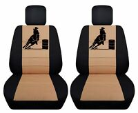 Fits 2000-2011 Suzuki Jimny  front set car seat covers  with design