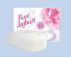 ROSE JOGHURT CREAM SOAP WITH NATURAL BULGARIAN ROSE WATER AND YOGHURT