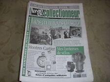 LVC VIE du COLLECTIONNEUR 354 16.02.2001 ANNEES DISCO LANTERNES VELO MONTRES