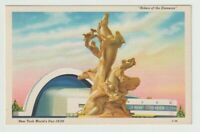 Unused Postcard New York Worlds Fair 1939 Riders of the Elements NY