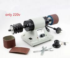 Leather polishing machine Belt leather edge burnishing machine only 220v New