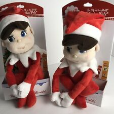 Elf on a Shelf Plushee Pal - Pair Of Two -New A Christmas Tradition Plush