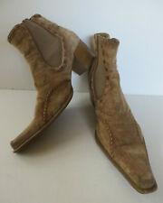 PeP Step ° coole Stiefeletten Gr. 41 braun Leder Damen Schuhe Western-Stiefel