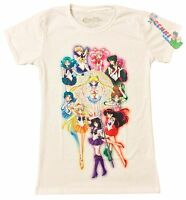 *Legit* Sailor Moon Senshi Soldiers Group Juniors Authentic Anime T-Shirt #59524