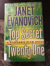 Top Secret Twenty-One A Stephanie Plum Novel Janet Evanovich Hardcover w/Jacket