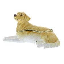 Treasured Trinkets  Golden Retriever Dog Trinket Box 15432 Gift