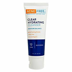 Clear Hydrating FACE Cleanser 60ML  ACNE TREATMENT (ACNEFREE)