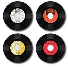Northern Soul Vinyl 4 Piece Coaster Sets